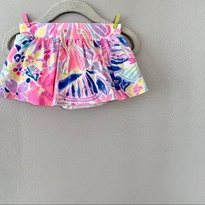 12m OshKosh Tropical Print Skirt